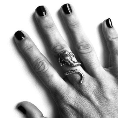 anillo elefante